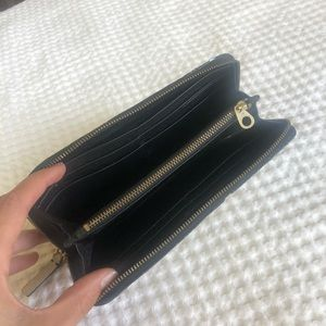 Marc Jacobs Leather Wallet Black/White